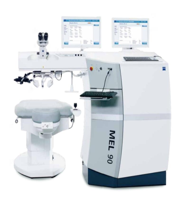德国卡尔蔡司准分子激光系统MEL 90
